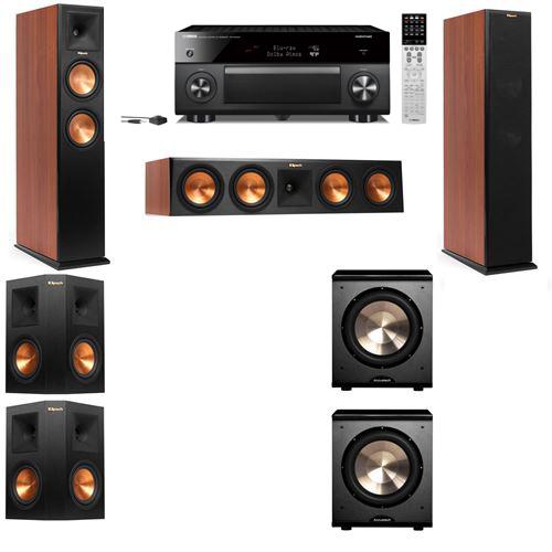 Klipsch RP-250F Tower Speakers CH-PL-200-5.2-Yamaha RX-A2060