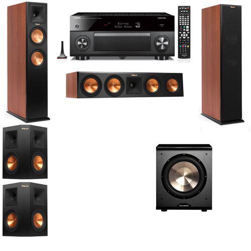 Klipsch RP-250F Tower Speakers CH-PL-200-5.1-Yamaha RX-A3060