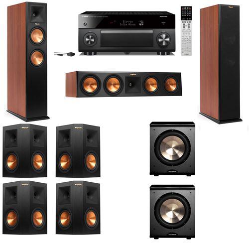 Klipsch RP-250F Tower Speakers CH-PL-200-7.2-Yamaha RX-A2060