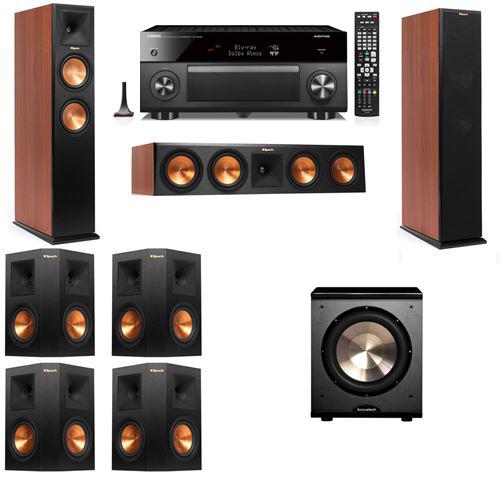 Klipsch RP-250F Tower Speakers CH-PL-200-7.1-Yamaha RX-A3060