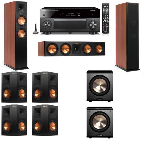 Klipsch RP-250F Tower Speakers CH-PL-200-7.2-Yamaha RX-A3060