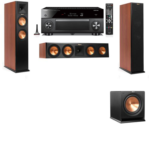 Klipsch RP-250F Tower Speakers CH-R112SW-3.1-Yamaha RX-A3060