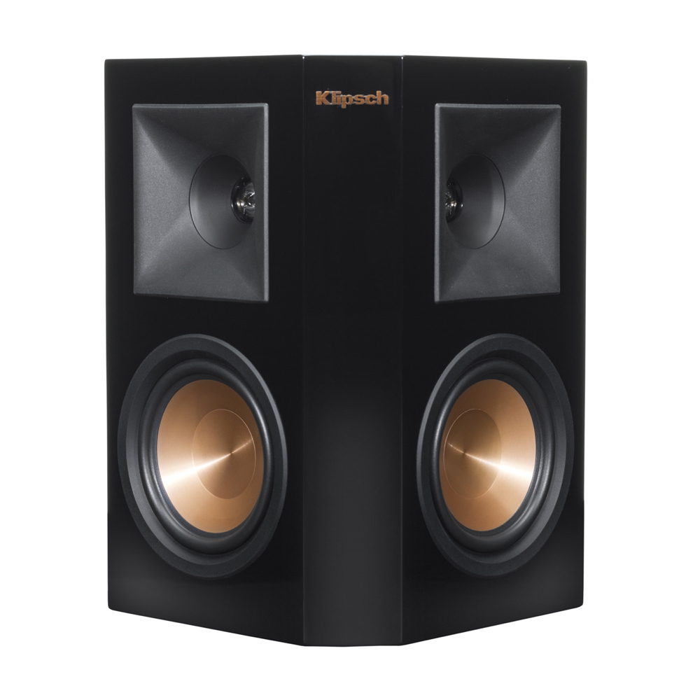Klipsch RP-250S-PB Piano Black Surround Sound Speaker