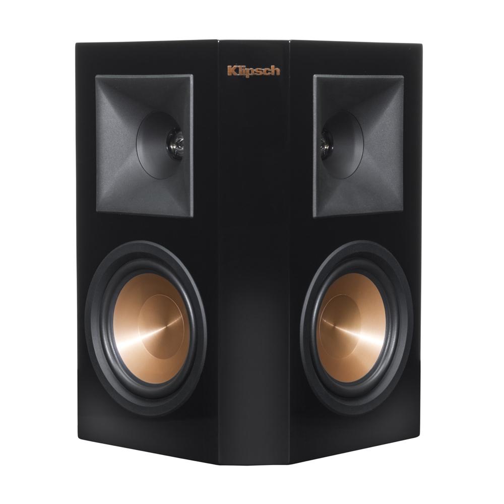 Klipsch RP-250S-PB Piano Black Surround Sound Speaker