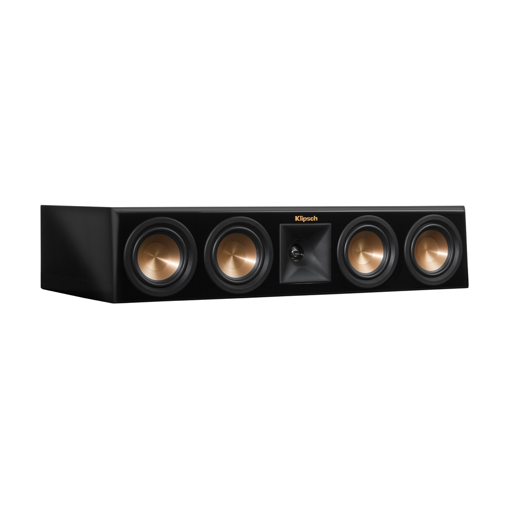 Klipsch RP-440C-PB Piano Black Center Channel Speaker