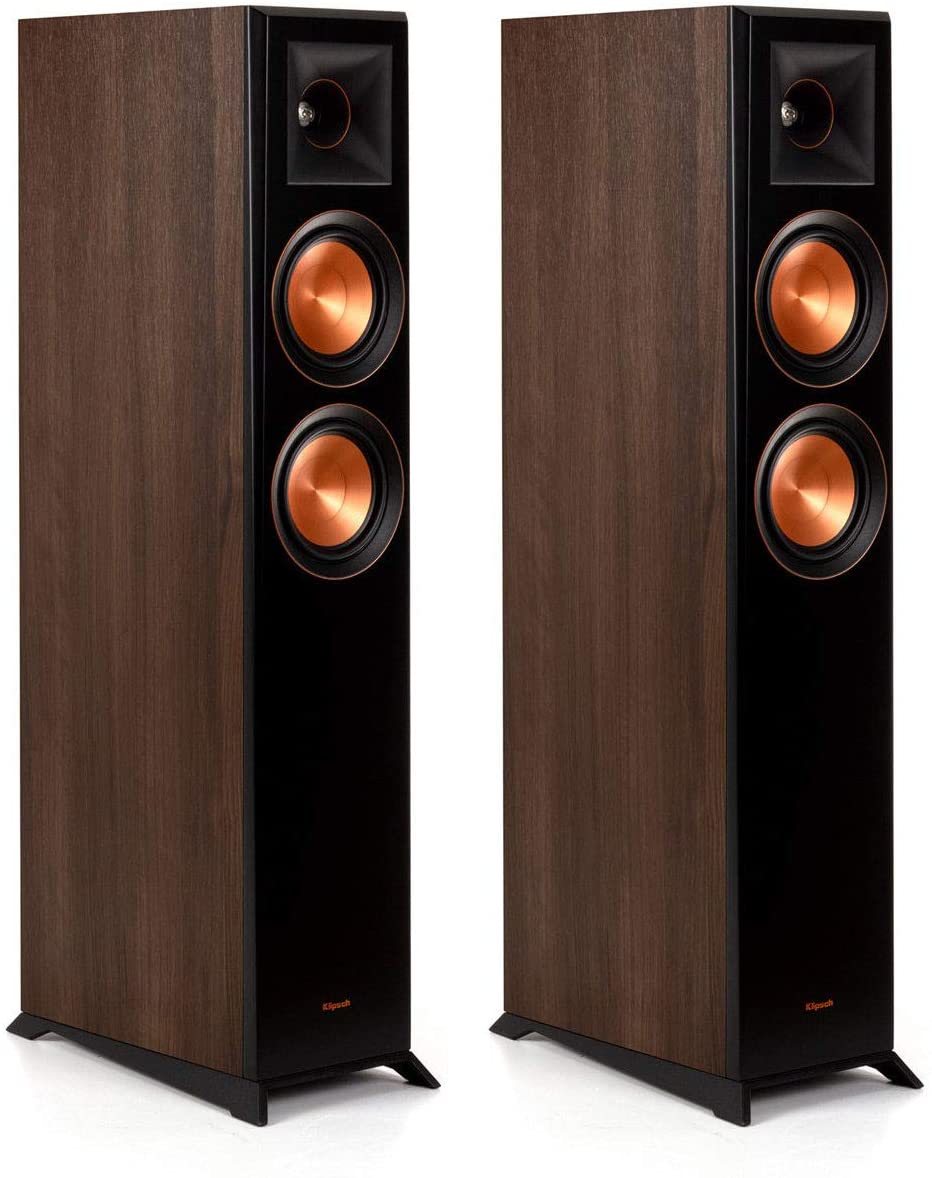 Klipsch Reference Premiere RP-5000F Walnut Floorstanding Speaker - Pair