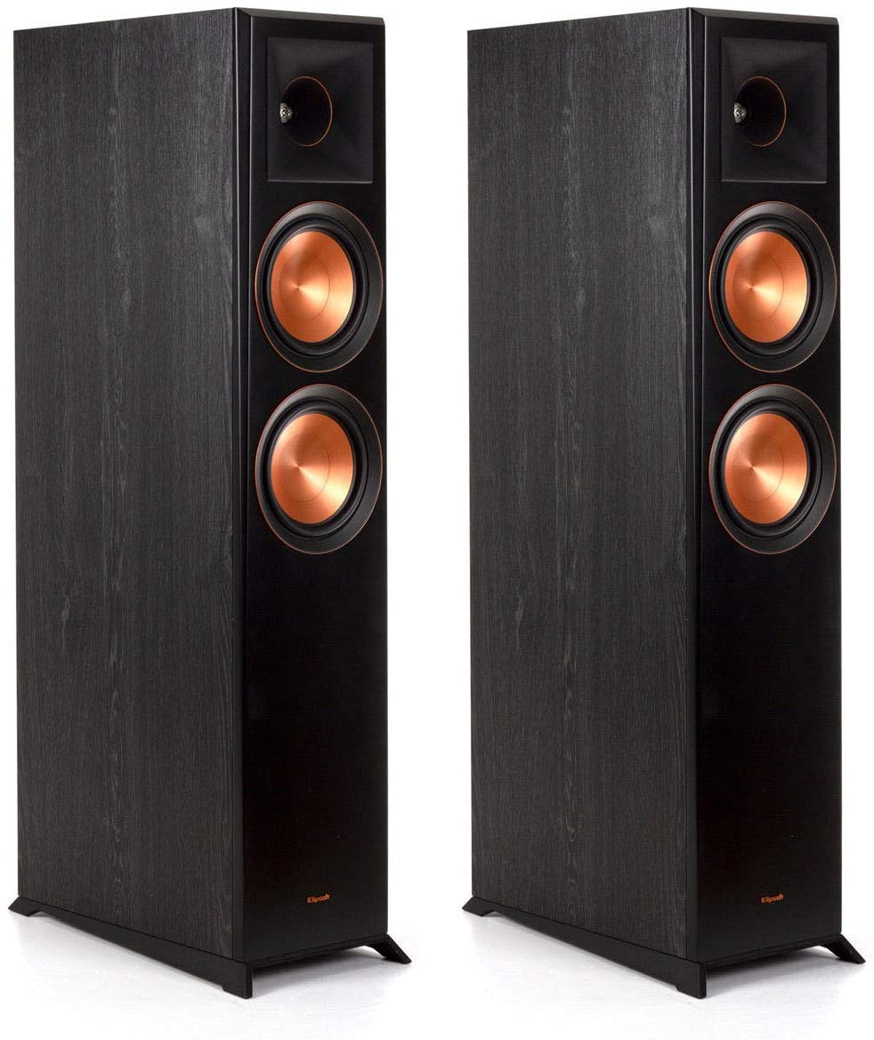Klipsch Reference Premiere RP-6000F Ebony Floorstanding Speaker - Pair