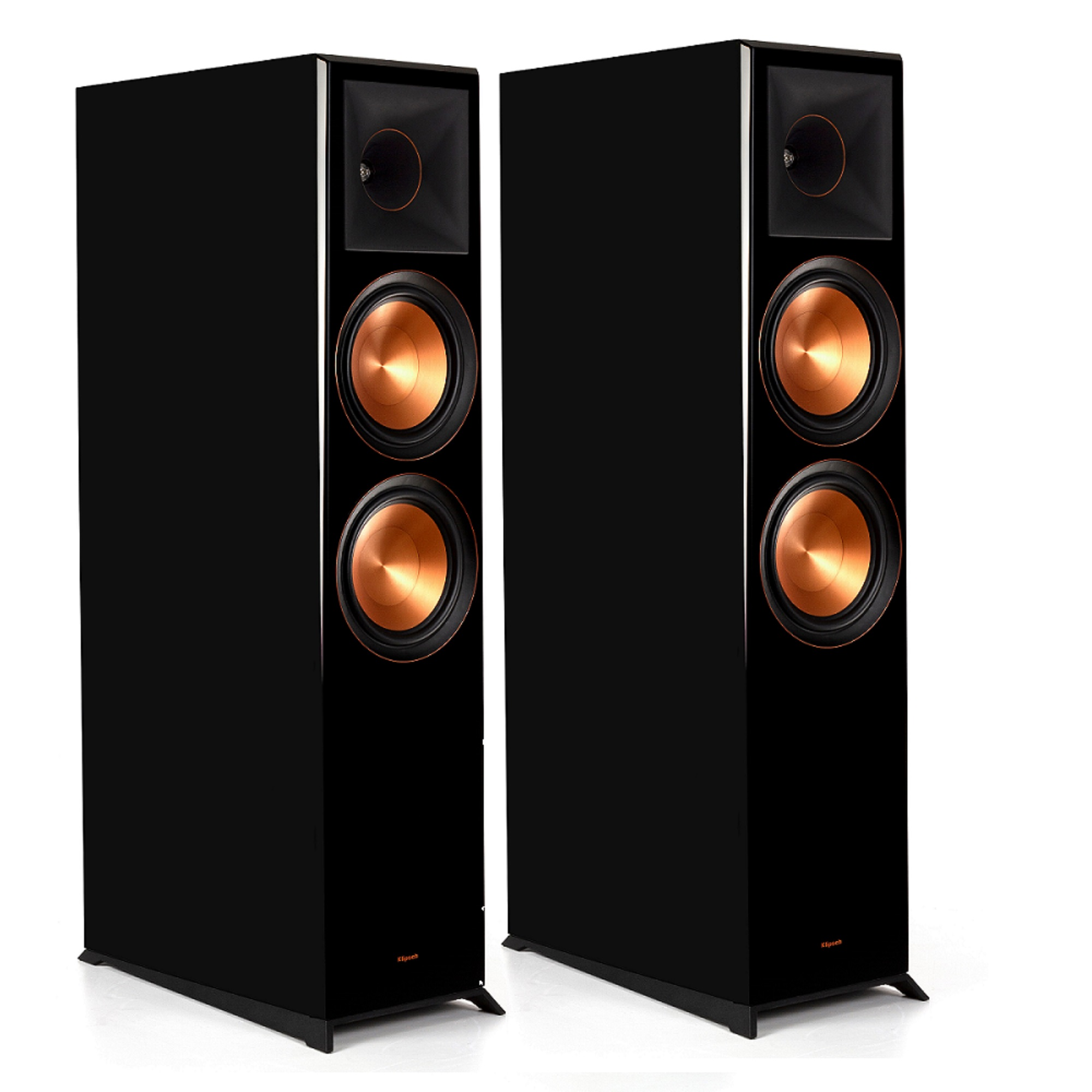 Klipsch Reference Premiere RP-8060 FA Floorstanding, Dolby Atmos Speaker Pair in Piano Black