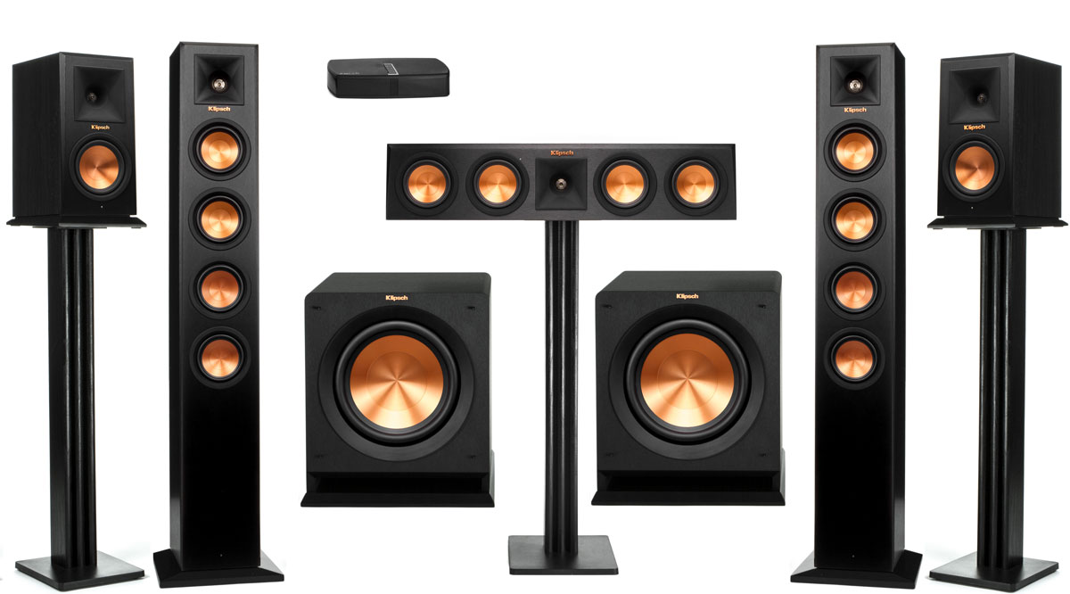 Klipsch RP-HD-Wireless-52-Towers