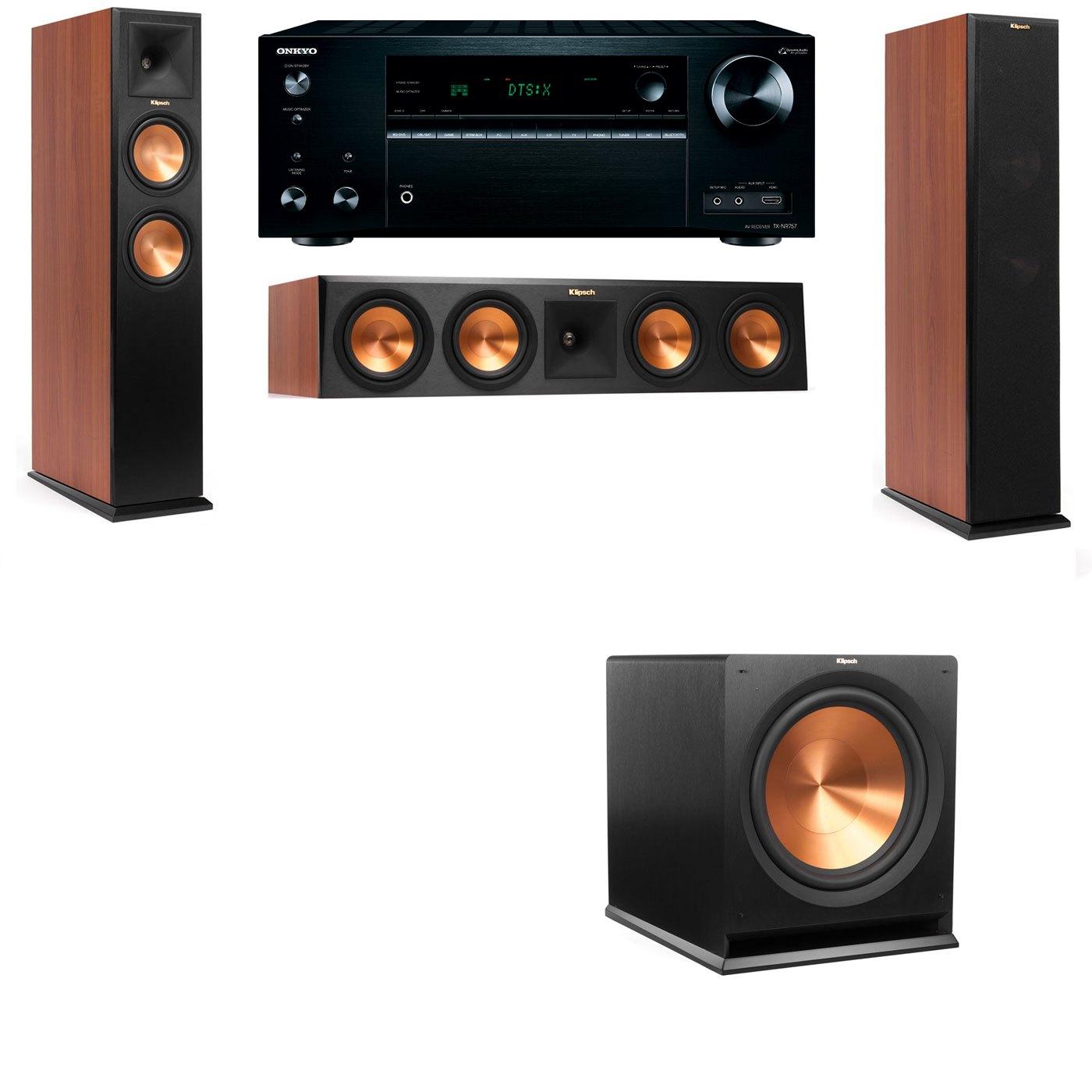 Klipsch RP-250F Tower Speakers CH-3.1-Onkyo TX-NR757