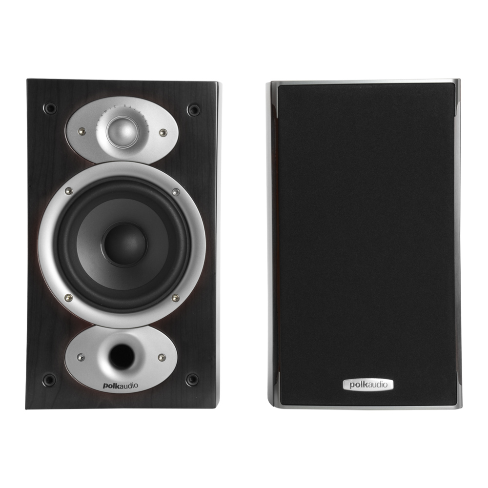 Polk Audio RTiA1-BLK Black Bookshelf Loudspeaker - Pair