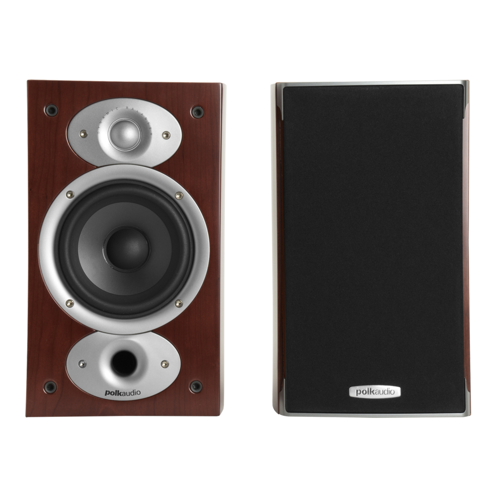 Polk Audio RTiA1-CH Cherry Bookshelf Loudspeaker - Pair