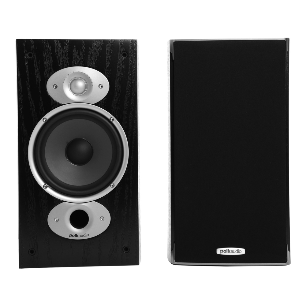 Polk Audio RTiA3-BLK Black Bookshelf Loudspeaker - Pair