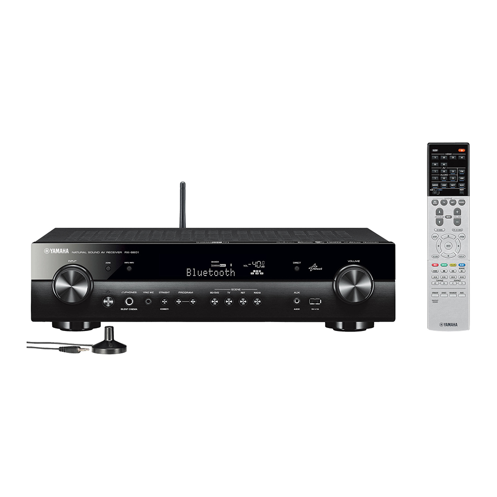 Yamaha RX-S601BL Black 5.1 Channel Network A/V Receiver