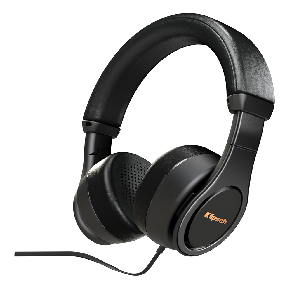 Klipsch Reference On-Ear-II-BLK Black Headphone