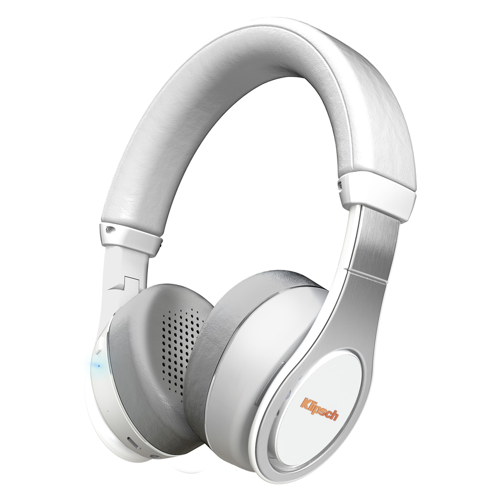 Klipsch Reference On-Ear Bluetooth White Headphone