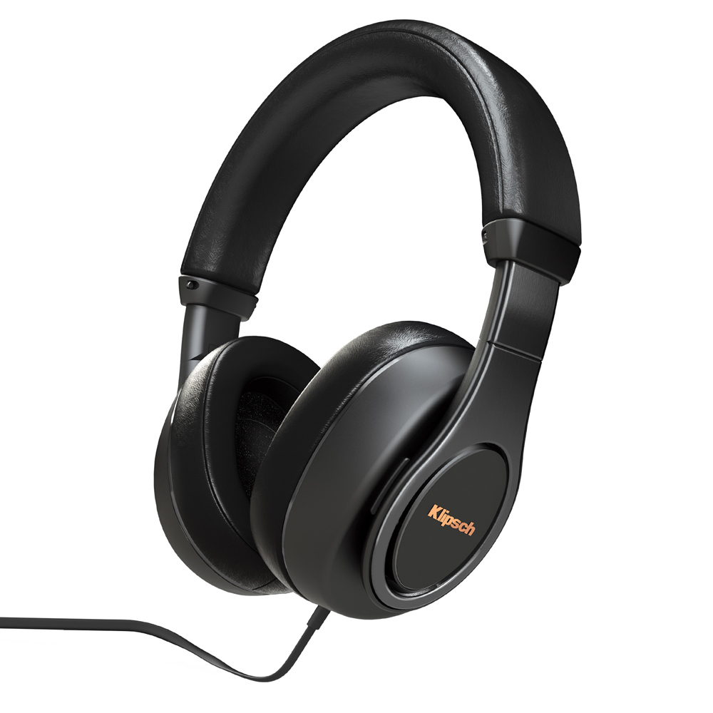 Klipsch Reference Over-Ear-BLK Black Headphone