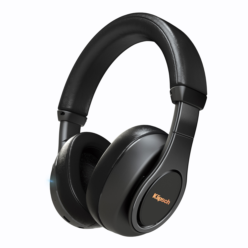 Klipsch Reference Over-Ear Bluetooth Black Headphone