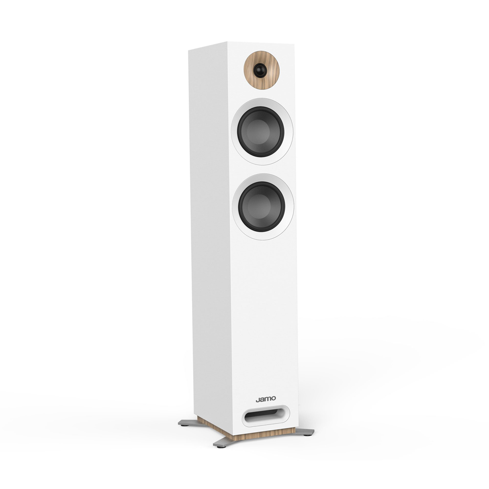Jamo Studio series S 807-WH White Floorstanding Speakers - Pair