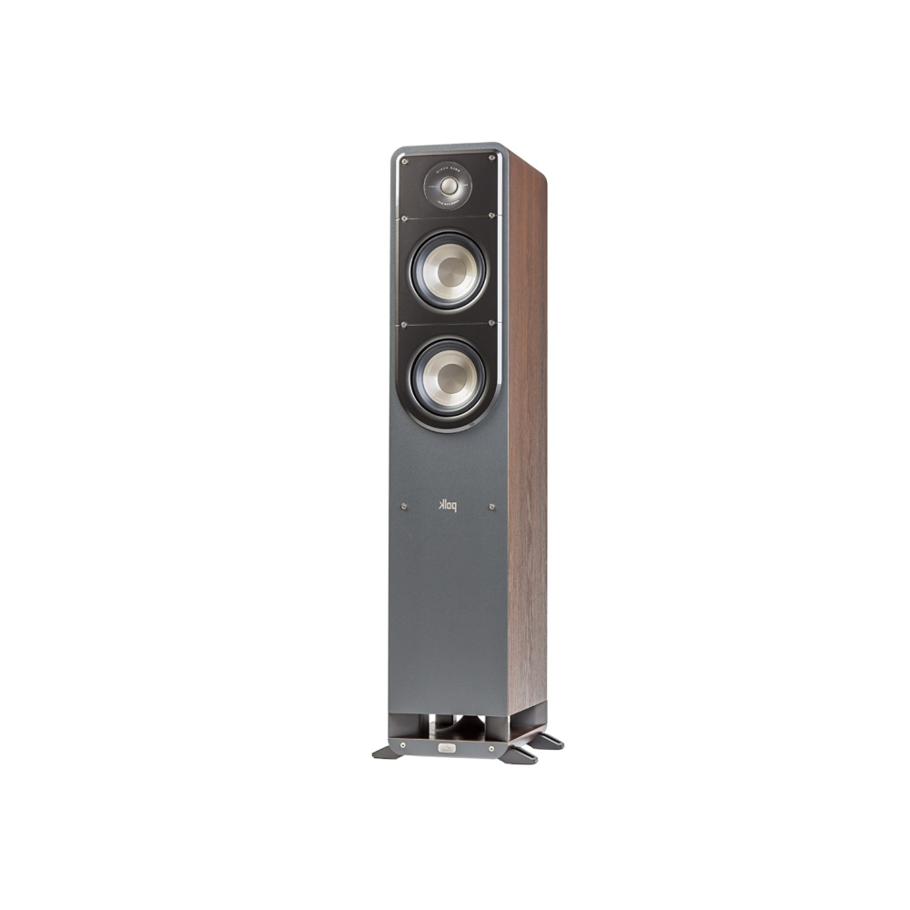 Polk Audio S50-BR Classic Brown Walnut Home Theater Tower Speaker