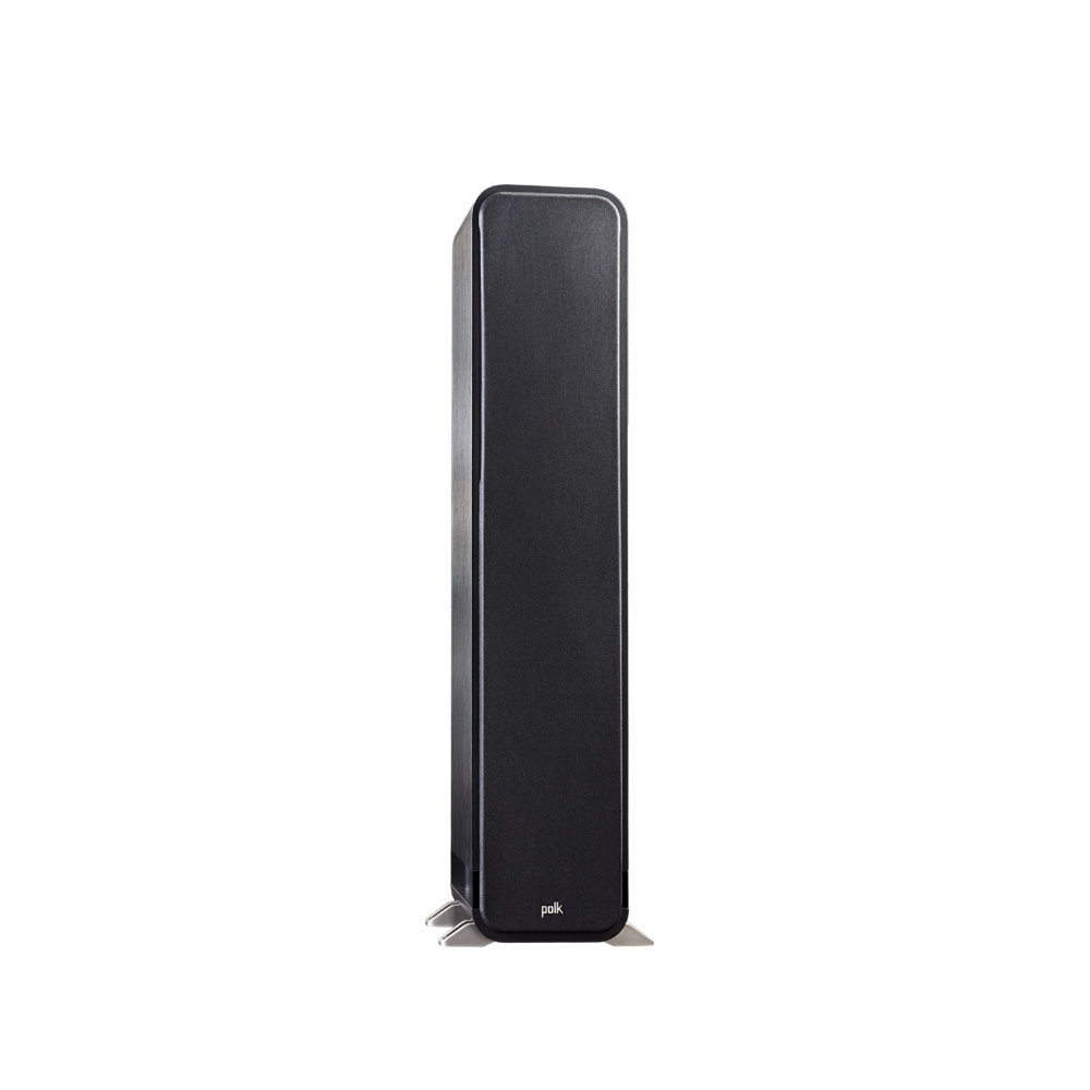 Polk Audio S55-BLK Washed Black Walnut Home Theater Tower Speaker