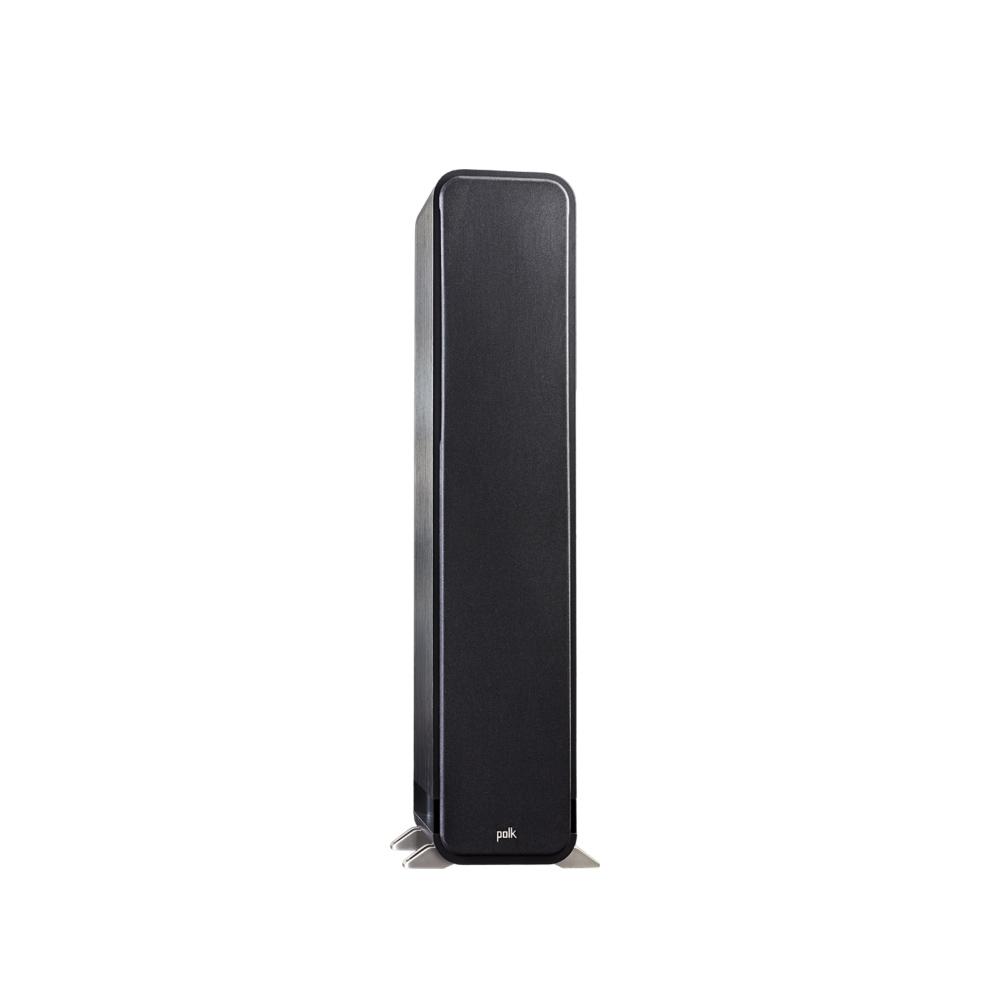 Polk Audio S55-BLK Washed Black Walnut Home Theater Tower Speaker