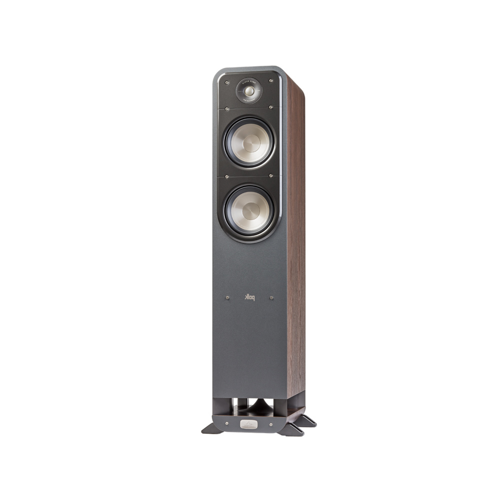 Polk Audio S55-BR Classic Brown Walnut Home Theater Tower Speaker