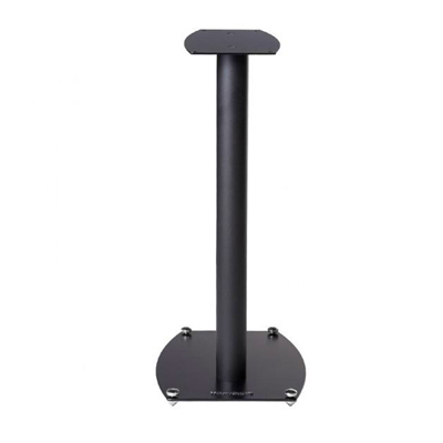 Wharfedale 22-inch ST-1-Stand Black Tall Aluminum Speaker Stands