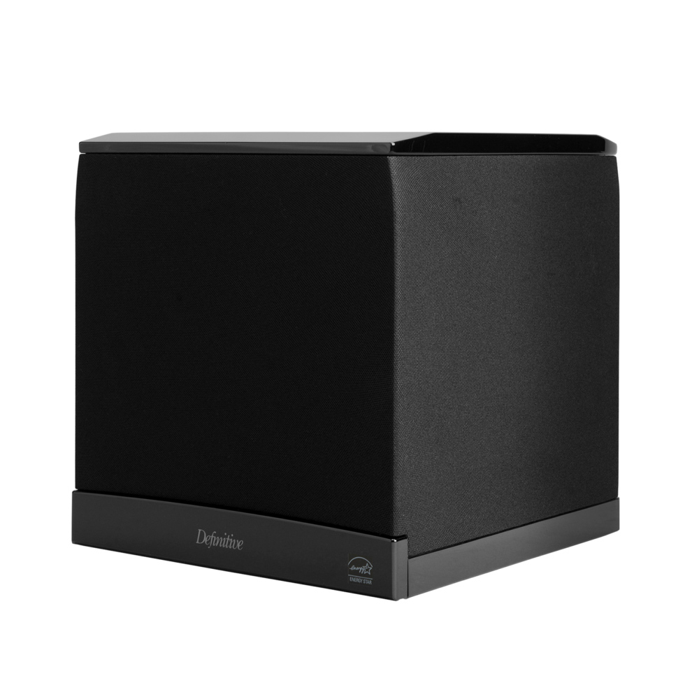 Definitive Technology SuperCube 6000 Black Powered Subwoofer