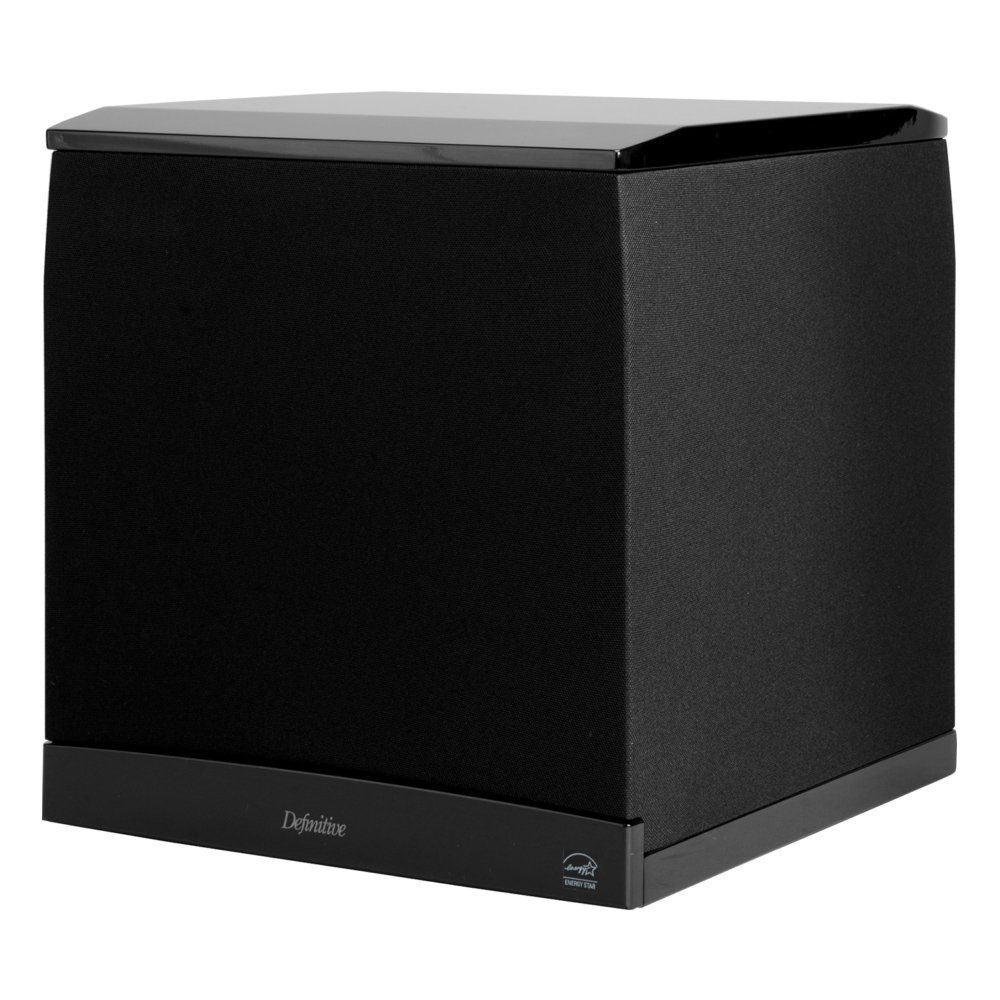 Definitive Technology SuperCube 8000 Black Ultra-Performance Powered Subwoofer