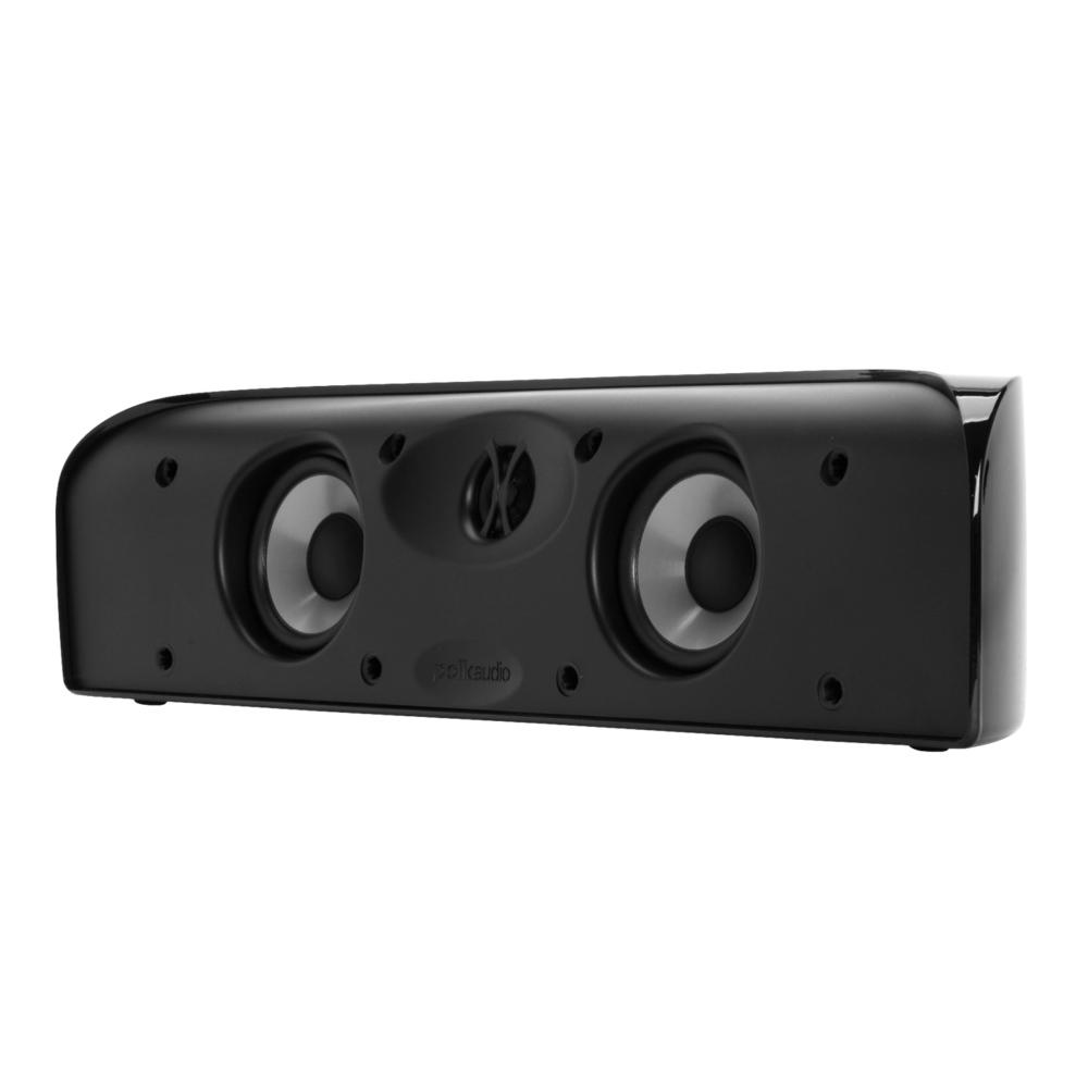 Polk Audio TL Series TL1-Center Black Blackstone Compact Center Channel Speaker