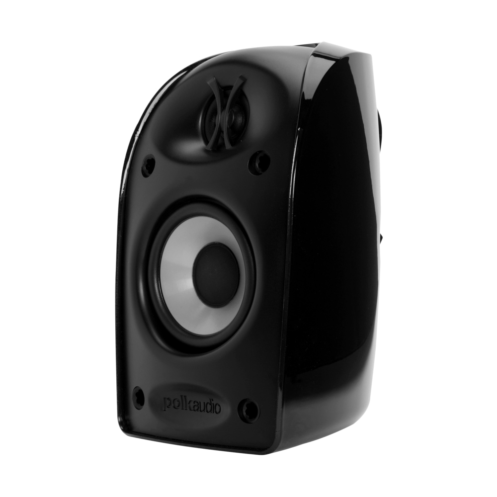 Polk Audio TL Series TL1-Satellite-BLK Black Blackstone Compact Satellite Speaker
