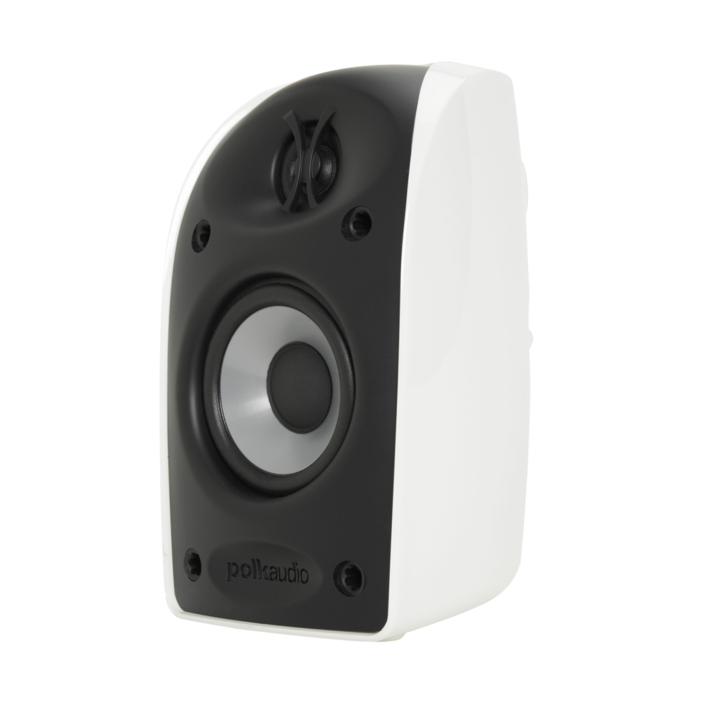 Polk Audio TL Series TL1-Satellite-WH White Blackstone Compact Satellite Speaker