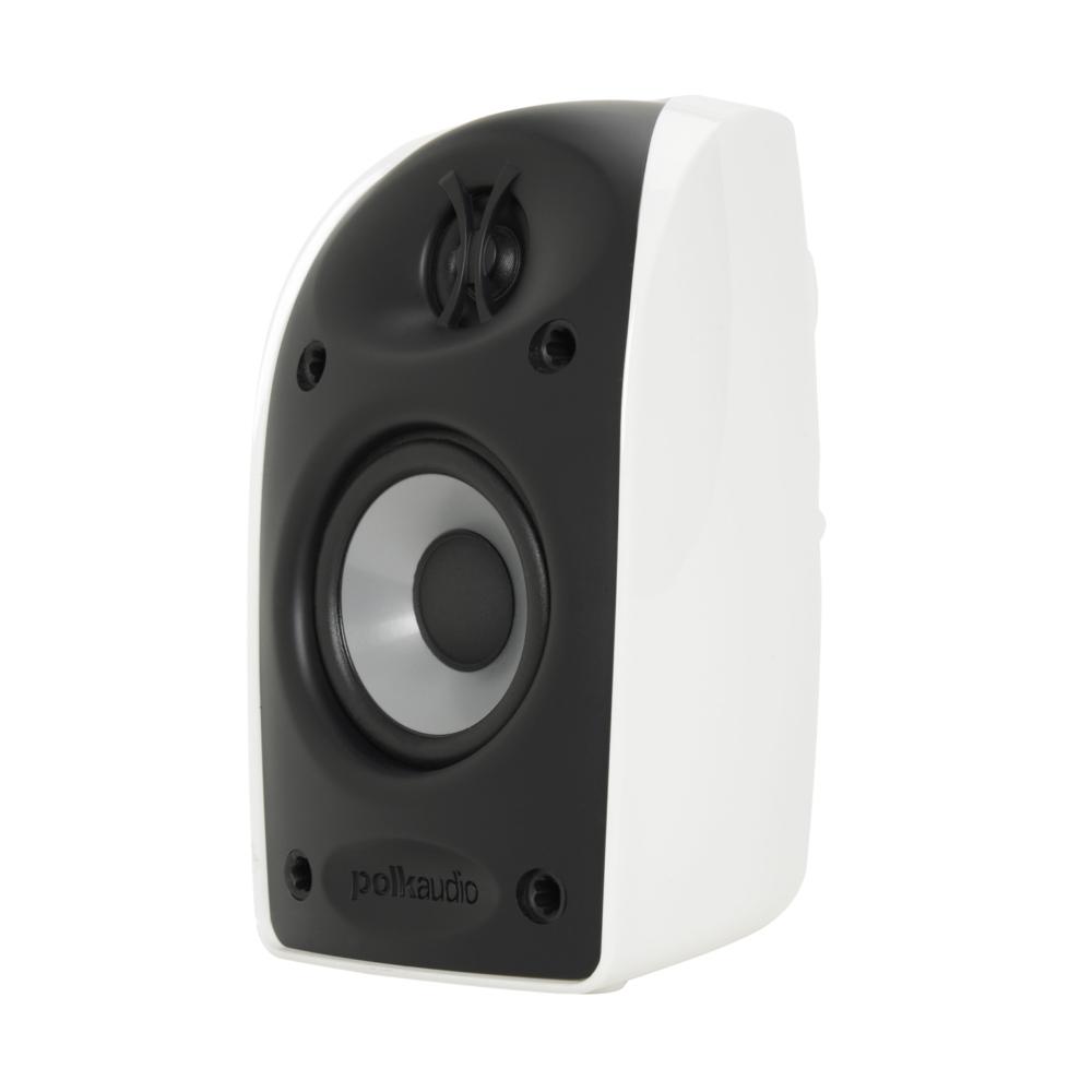 Polk Audio TL Series TL1-Satellite-WH White Blackstone Compact Satellite Speaker