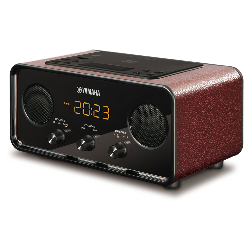 Yamaha TSX-B72DR Dark Red Desktop Audio System