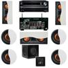 R-5502-W II In-Wall Speaker 7.1 SW-310 Onkyo TX-NR838 7.2