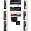 R-5502-W II(7) In-Wall Speaker 7.1 SW-310 Onkyo TX-NR838 7.2