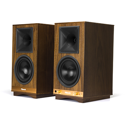 Klipsch The Sixes Walnut Powered Speakers - Pair