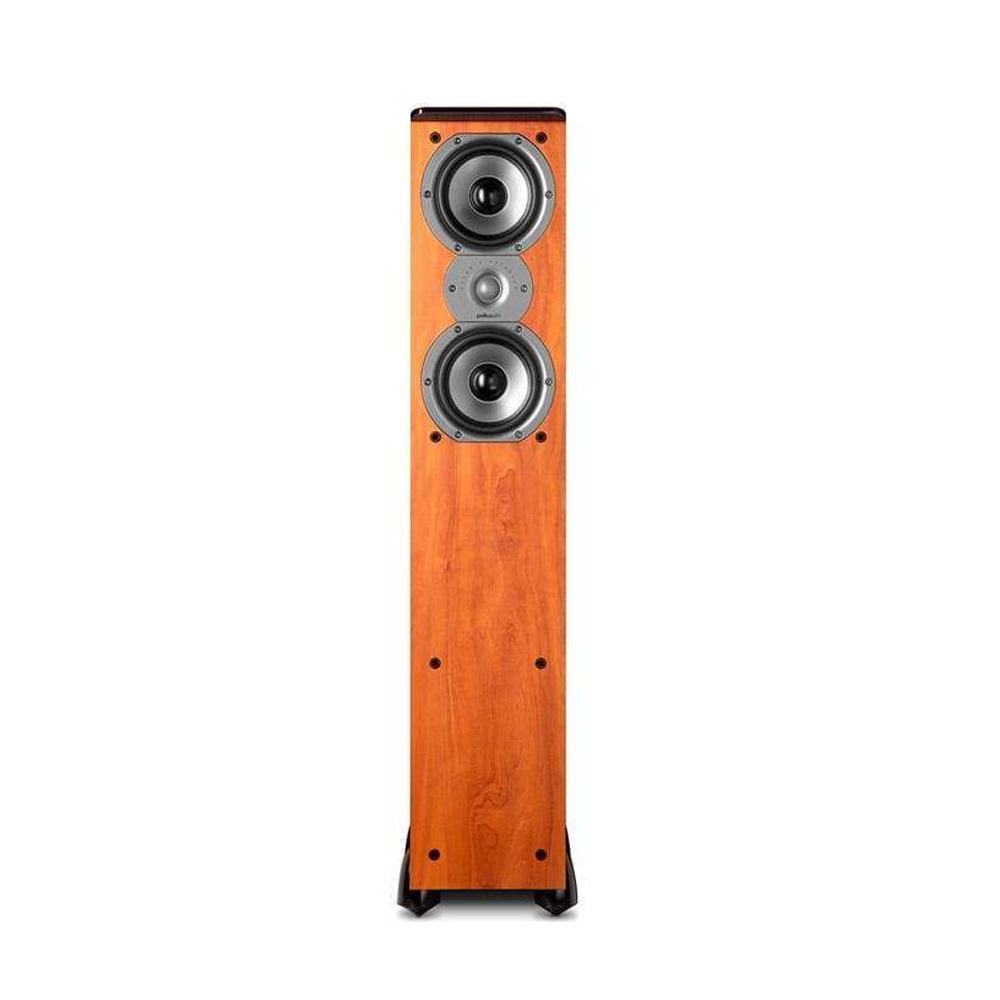 Polk Audio TSi Series Tsi-300-CH Cherry 3-Way Floorstanding Tower Speaker