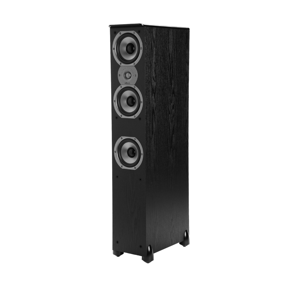 Polk Audio TSi Series Tsi-400-BLK Black Floorstanding Speaker