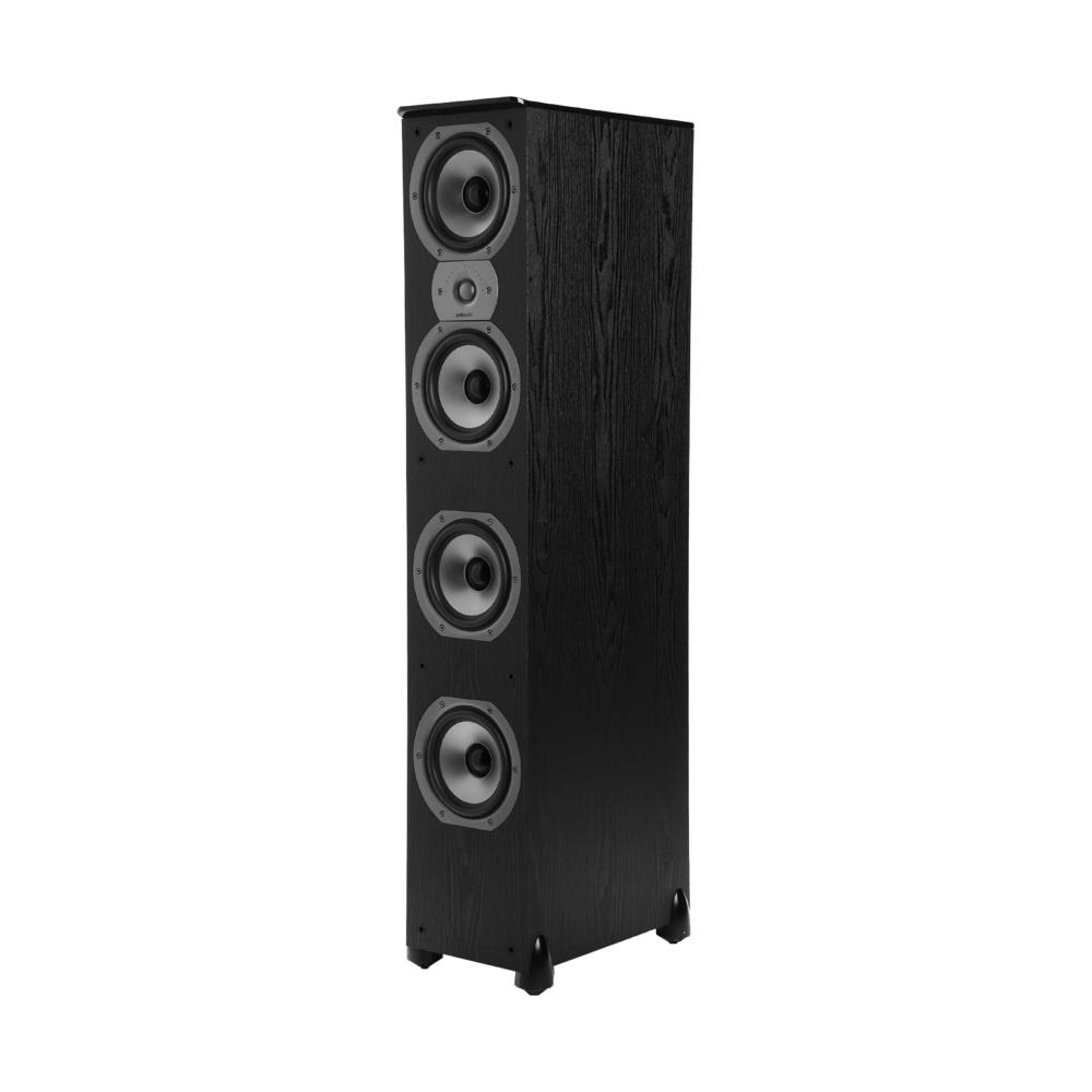 Polk Audio TSi Series Tsi-500-BLK Black High Performance Tower Speaker