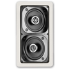 Definitive Technology UIW BP-A Two-Way Bipolar In-wall Loudspeaker- White