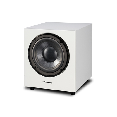 Wharfedale 10-inch WH-D10-WH White Sandex Active Acoustic Suspension Subwoofer
