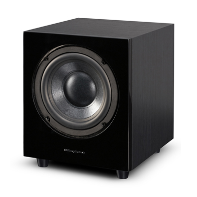 Wharfedale 8-inch WH-D8 Black Ash Active Bass Reflex Subwoofer