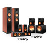 Klipsch 7.2 RP-280 Package w/ R-115SW Subwoofers & 2 FREE Wireless Kits