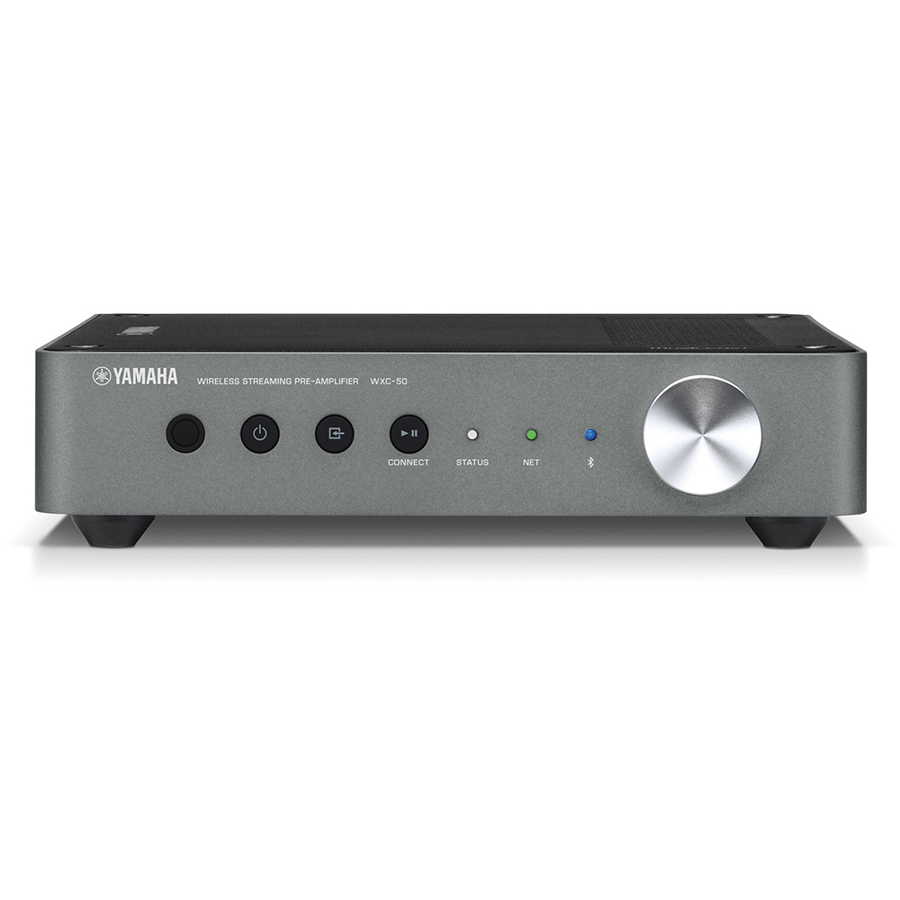 Yamaha WXC-50BL Black MusicCast Wireless Streaming Preamplifier