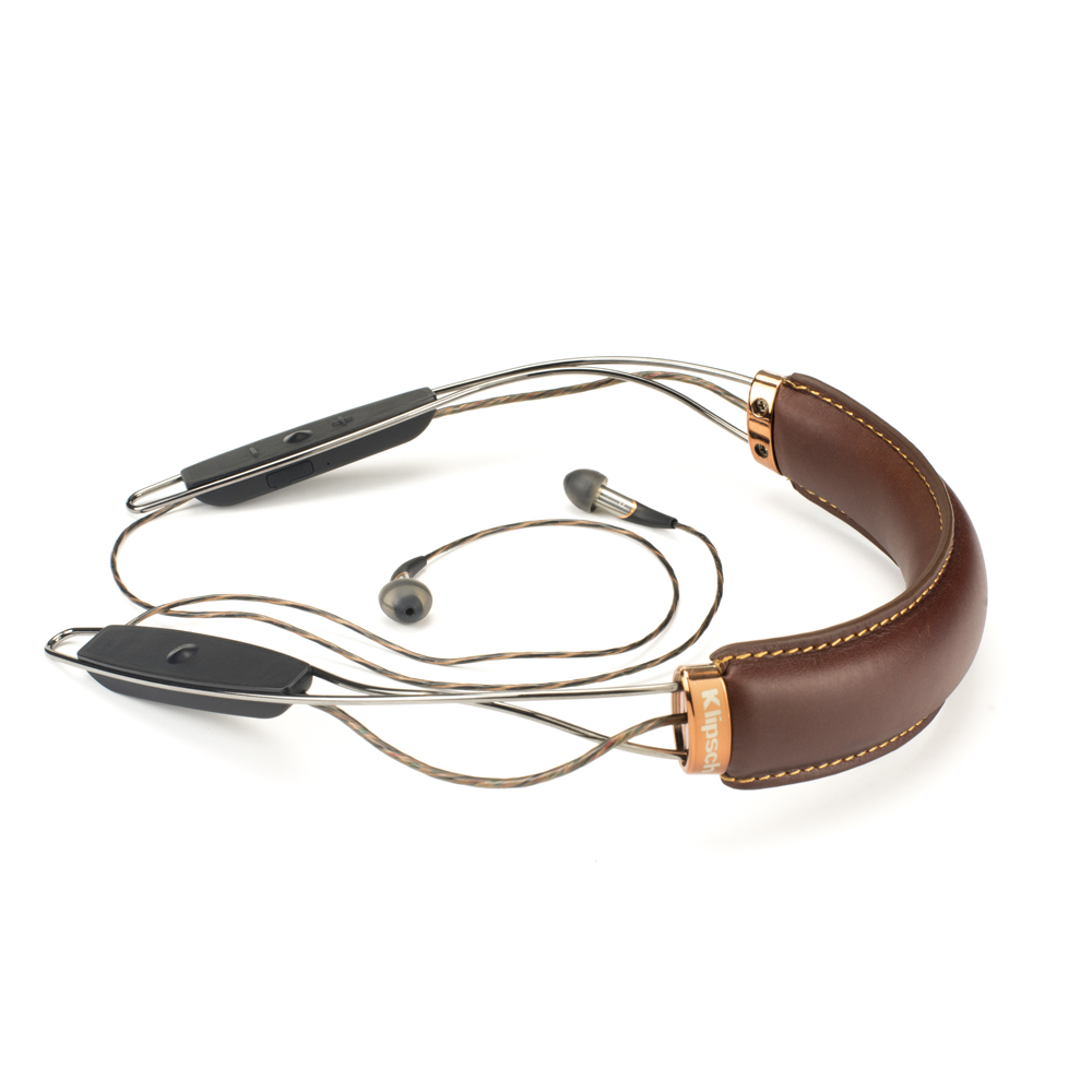 Klipsch X12NB-BR Brown Neckband Bluetooth Headphone