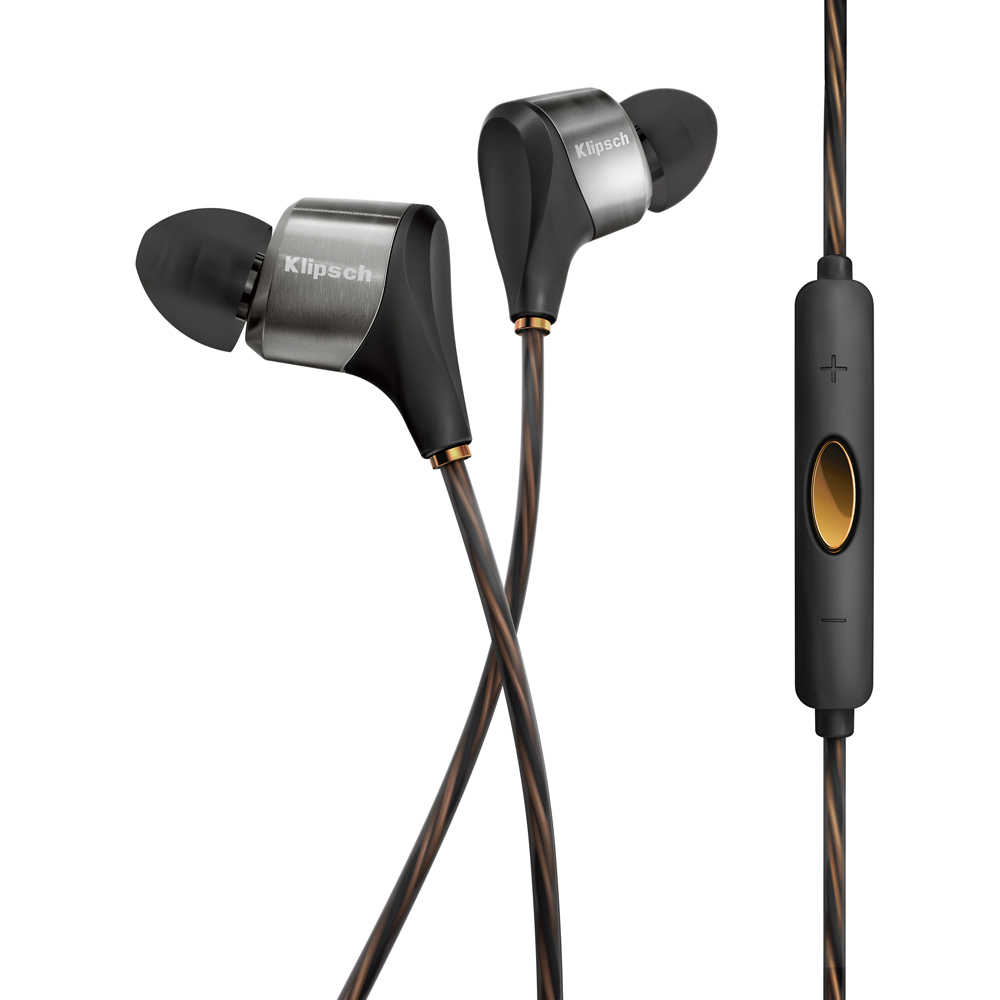 Klipsch XR8i Black Hybrid In-Ear Headphone