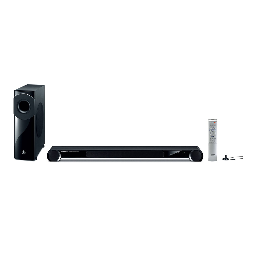 Yamaha YSP-3300BL Black Sound Bar with Wireless Subwoofer