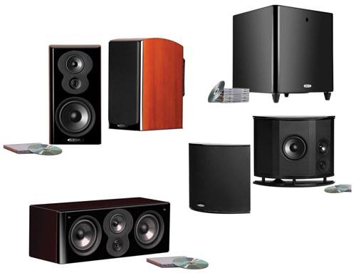Polk Audio LSiM703 5.1 Home Theater System